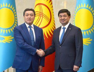 Kazakhstan Kirghizstan Frontières Commerce Economie Accords Covid-19