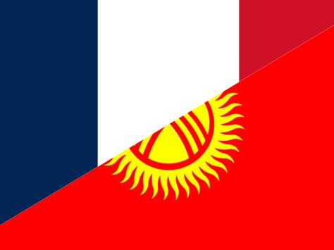 France Kirghizstan Relations bilatérales Diplomatie Economie