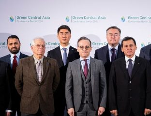 Green Central Asia Allemagne Asie centrale Diplomatie Environnement Union européenne