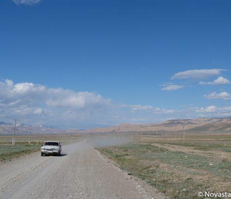 Route Kirghizstan Naryn Transhumance problème Kotchkor