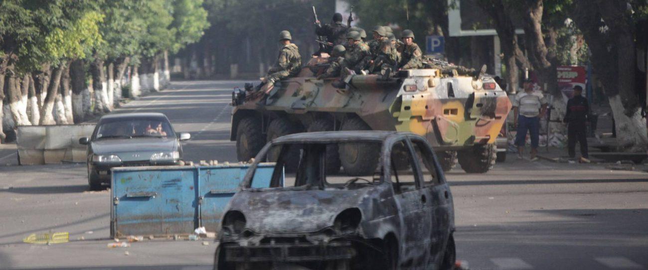 Och Juin 2010 Kirghizstan Violences Interethniques Ouzbeks Affrontements Conflit Pogroms Djalal-Abad