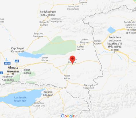 Kazakhstan Almaty Conflit Kazakhs Ouïghours Couteau Chonji