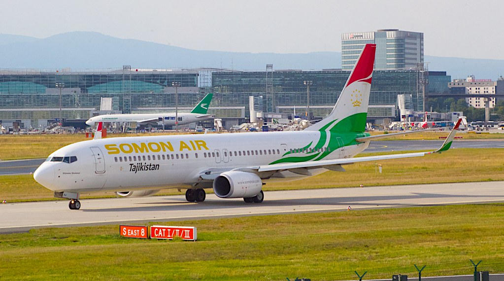 France Tadjikistan Paris Douchanbé Liaison Aérienne Somon Air Compagnie Aérienne