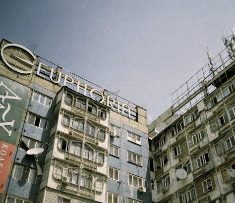 Kirghizstan Bichkek Architecture Bâtiment