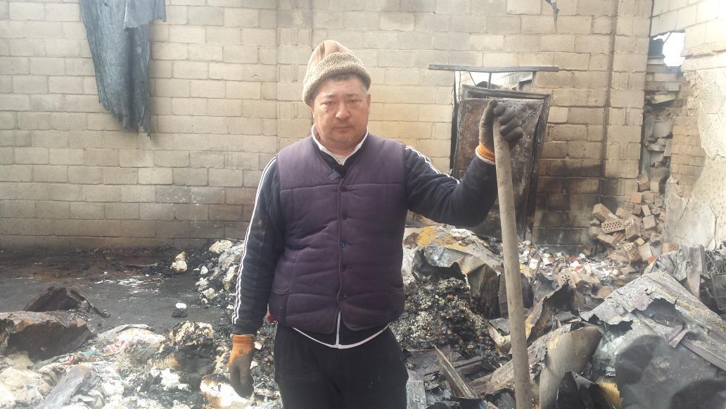 Homme Doungane Maison Brûlée Masantchi