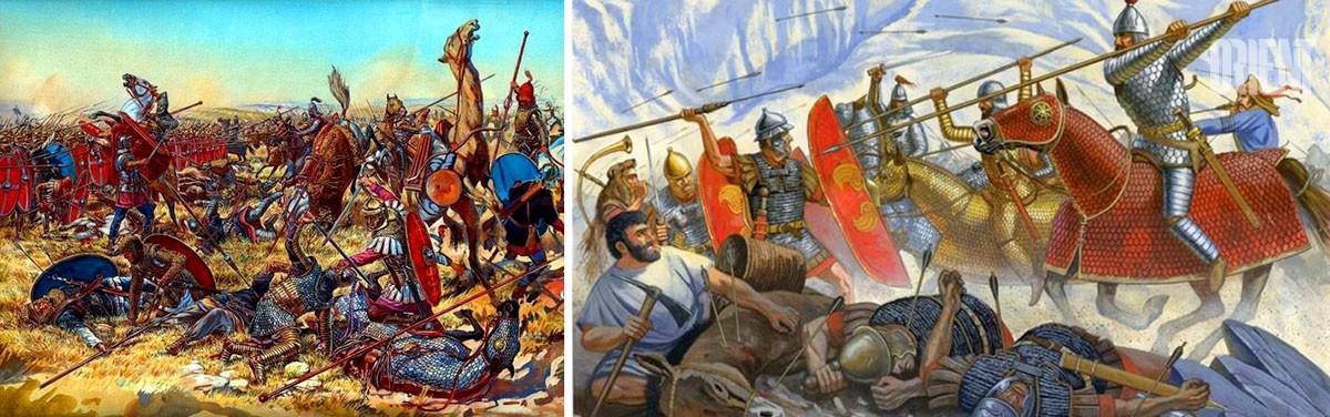 Turkménistan Nisa Bataille Empire Parthe Empire Romain