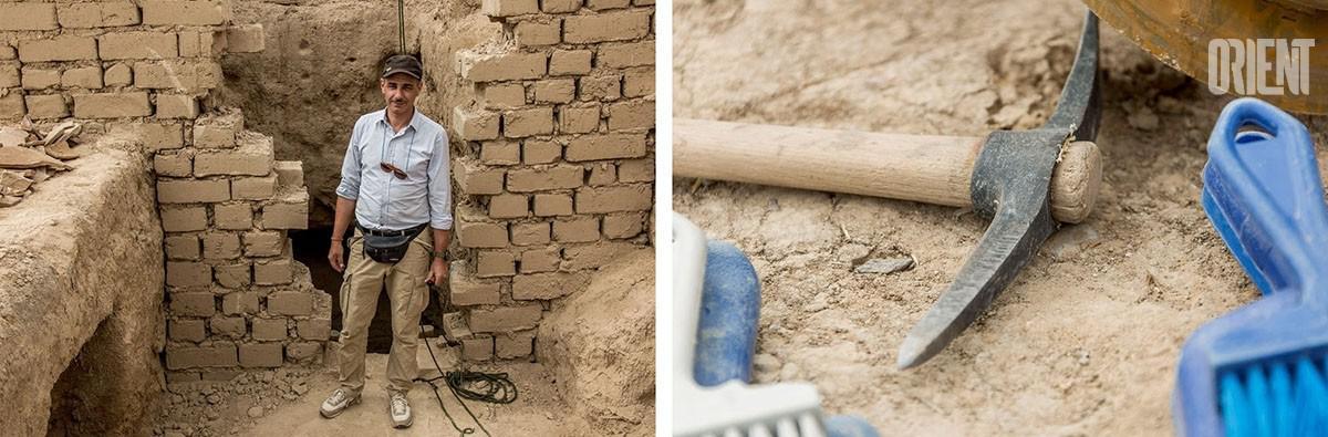 Turkménistan Nisa Cité Antique Fouille Archéologie