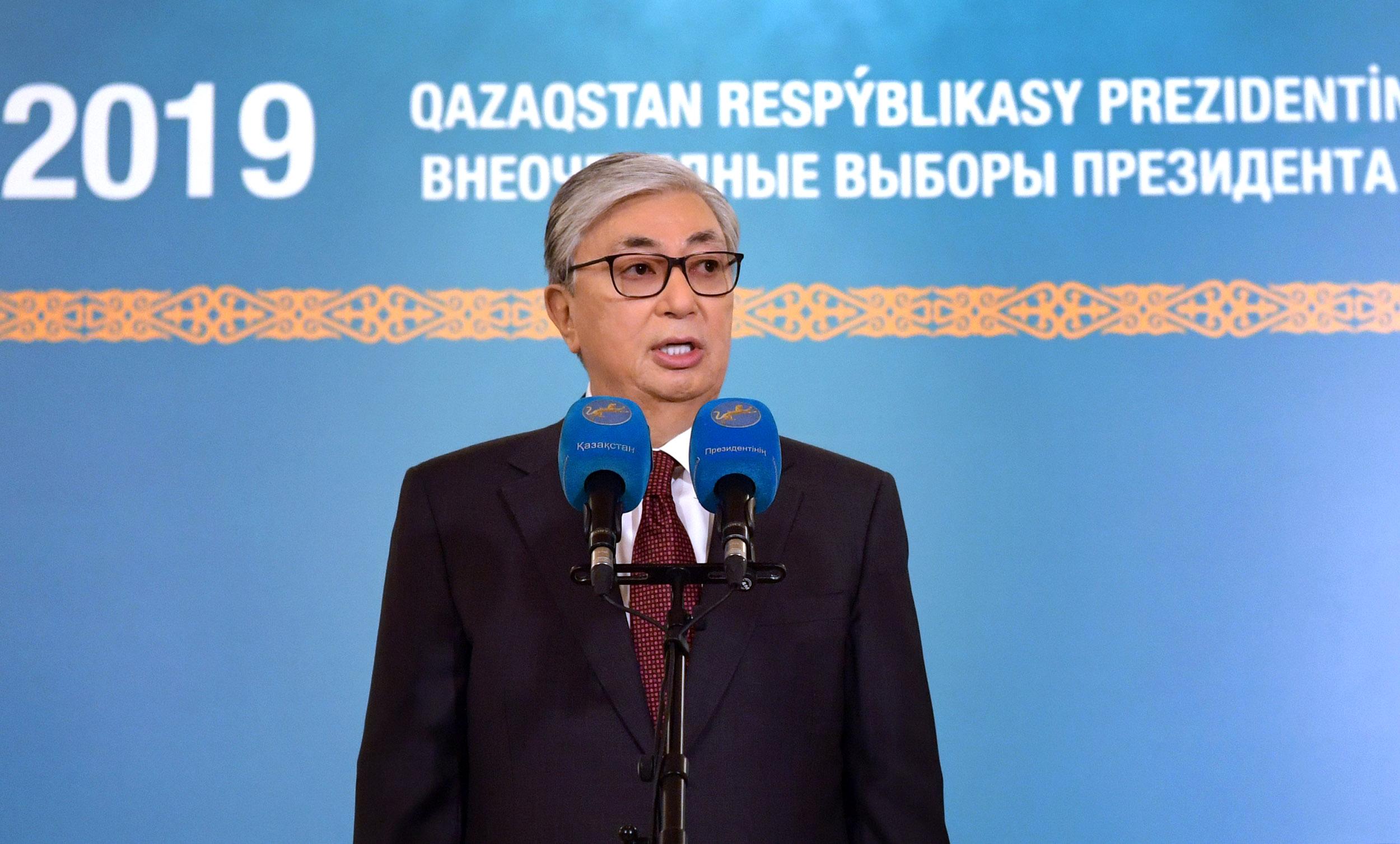 Tokaïev Kazakhstan Président Présidence Politique