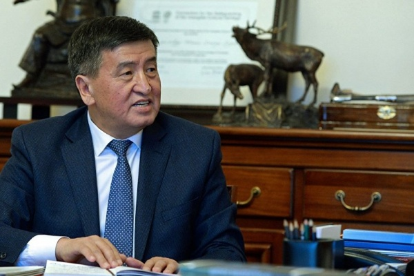 Soronbay Jeenbekov Premier ministre Kirghizstan