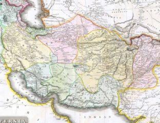 Carte Grand jeu Perse 1814
