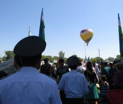 Fête aérienne ouzbékistan