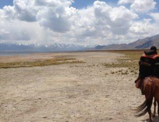 Cheval Kirghizstan balade