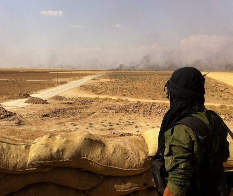 syrie état islamique asie centrale guerre