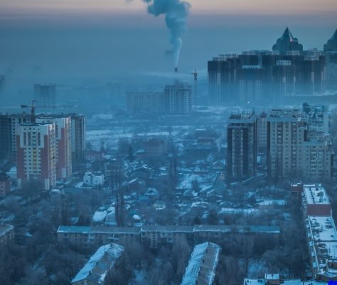 Almaty smog environnement Kazakhstan