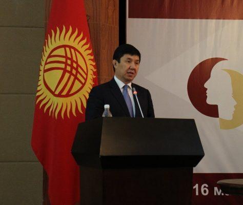 Temir Sarïev Premier ministre Kirghizstan démission