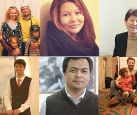 Portraits de kirghizes francophones