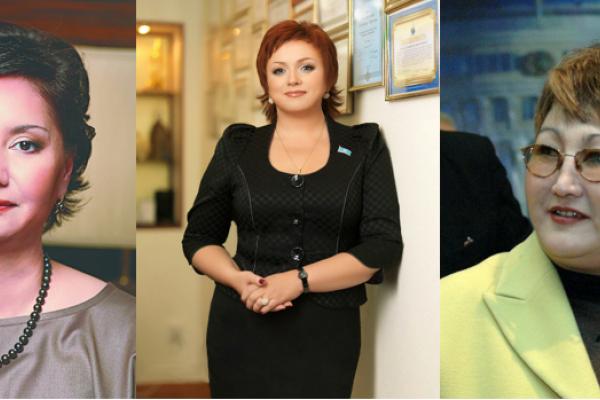 Photo femmes politiques kazakhs