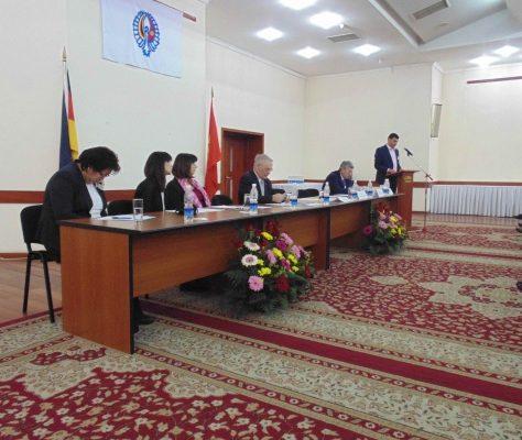 Photo congrès Allemands Kirghizie