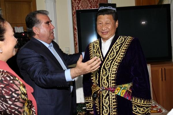 Tadjikistan Chine Rahmon