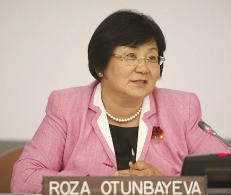 Kirghizstan Roza Outounbaïeva United-Nations