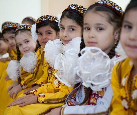 écolières turkménistan