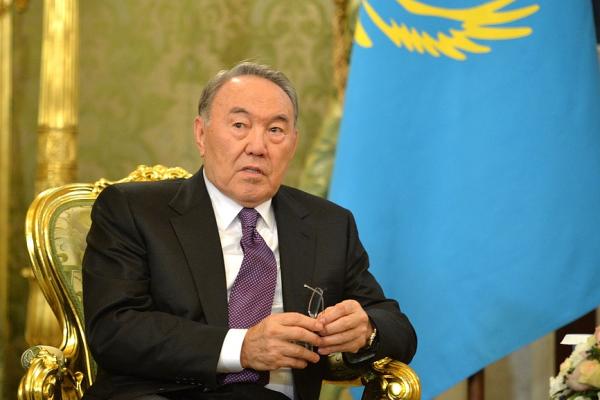 """Noursoultan Nazarbaïev, a lancé le programme culturel """"La Grande Steppe"""" fin 2018"""