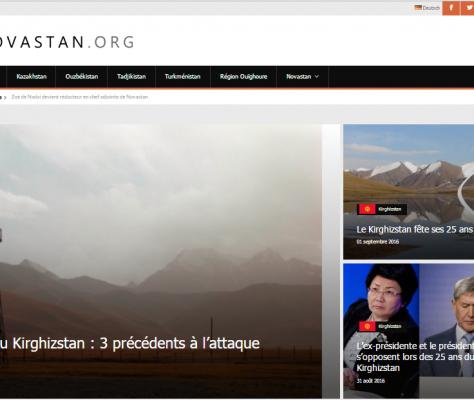 Nouveau site Novastan Web