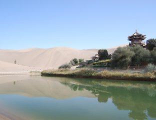 Ville de Dunhang en Chine