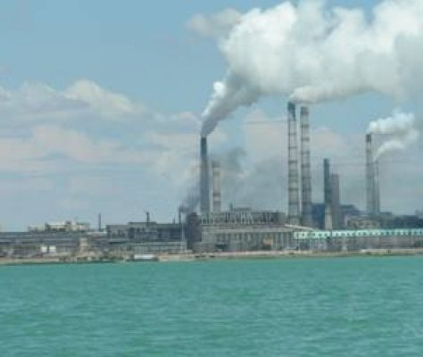 Usine métallurgique Balkhach Kazakhstan
