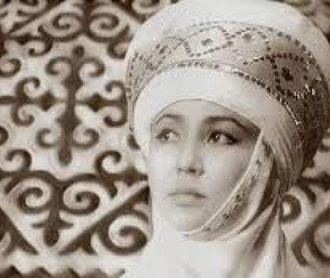 Actrice kirghize Tattybyubyu Tursunbaeva