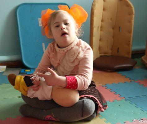 Enfant handicapé au Kirghizstan