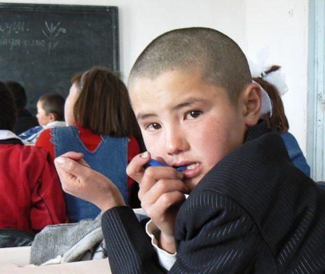 Ecolier kirghiz