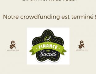 Crowdfunding Novastan terminé succès Ulule