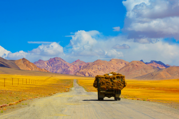 New silk road nouvelle route de la soie