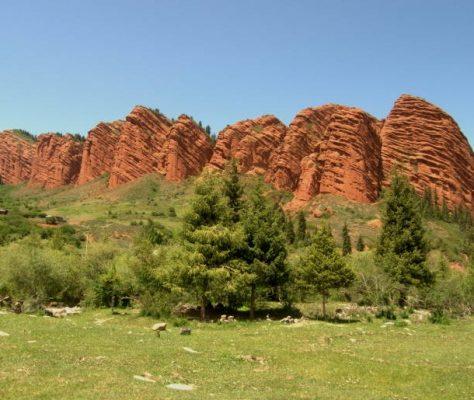 Issyk-koul Djety-Oguz tourisme