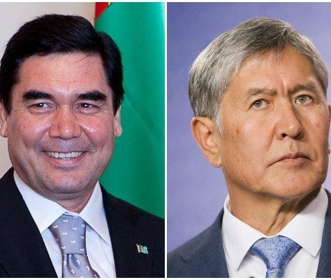 Gurbanguly Berdimouhamedov et Almazbek Atambaïev