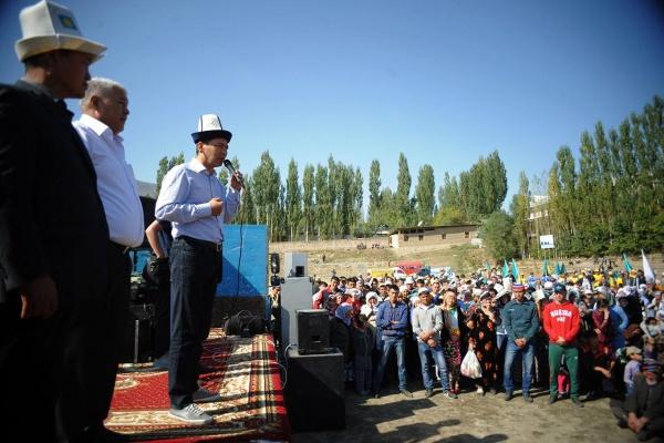 Respublika Ata Jurt Nookat campagne Kirghizstan