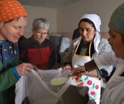 fromage Tadjikistan femmes crise